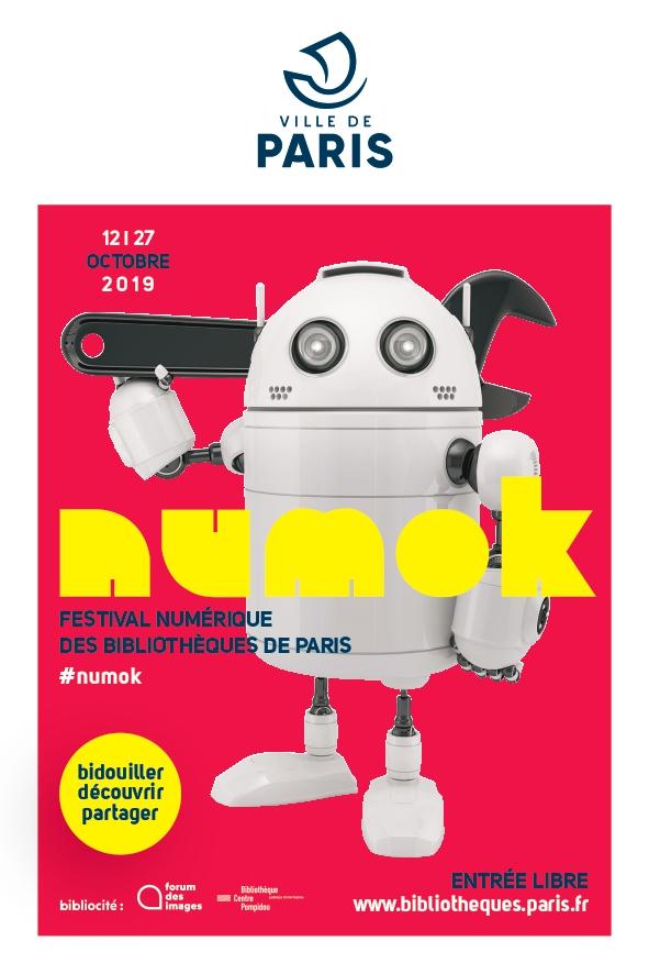 Affiche NUMOK 2019