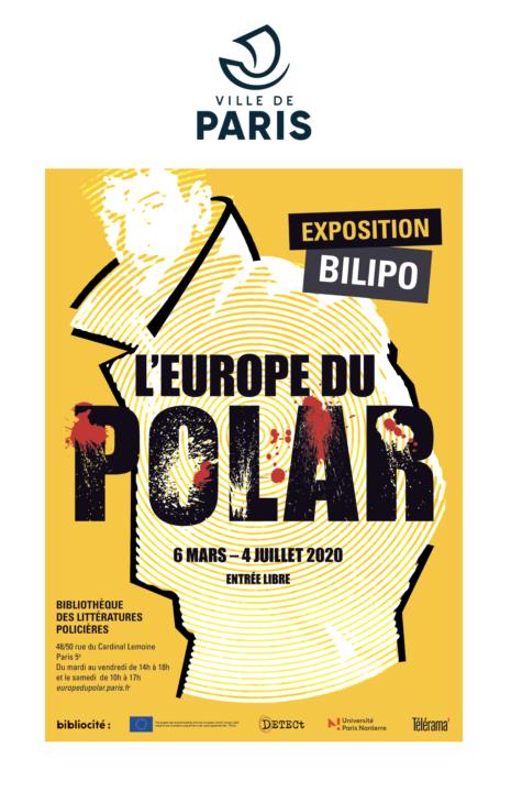 Press Release Crime Fiction in Europe Bilipo bibliothèque des littératures policières