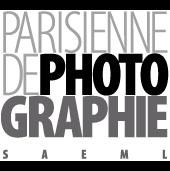 Logo Parisienne de Photographie, exposition Sagan