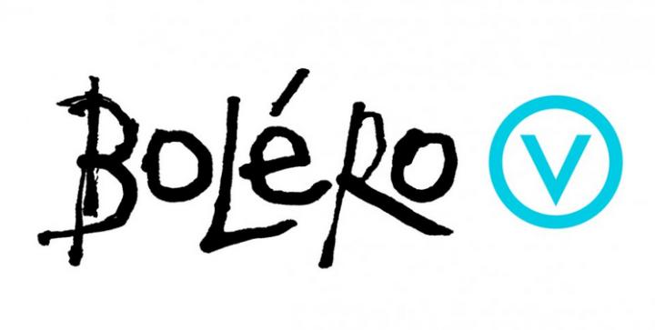 Logo bibliothèque Boléro (Versoix), co-producteur de l'exposition Sagan